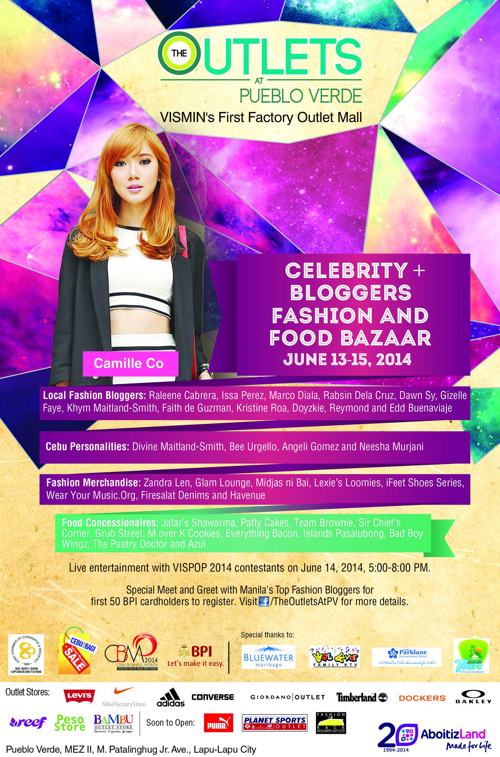 Cebu In The Bag: Celebrity + Bloggers Bazaar