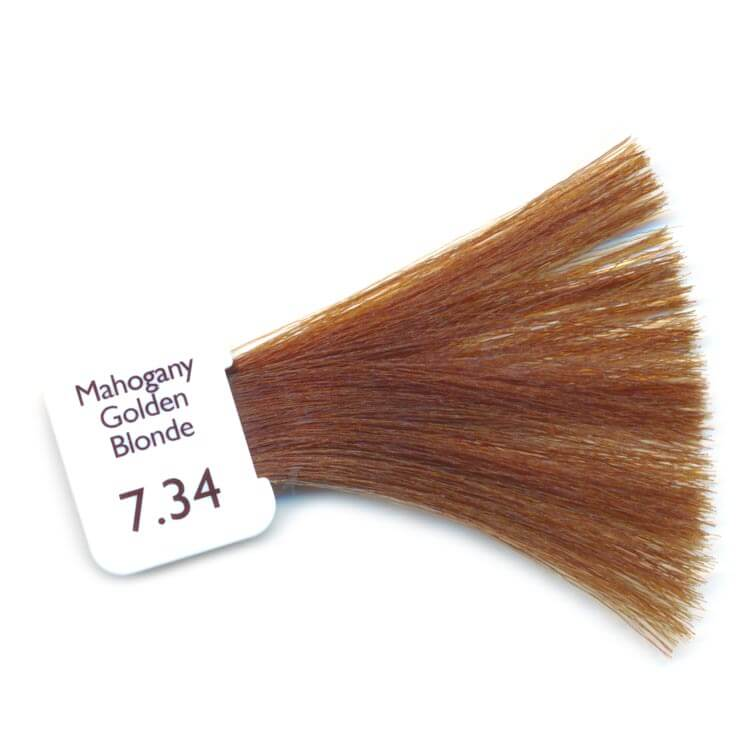 PPD Free Hair Colour - mahogany golden blonde