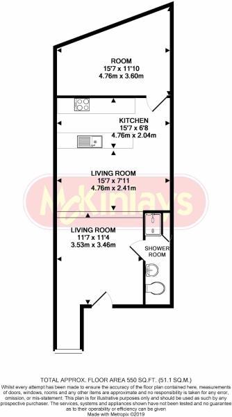 1 bedroom ground floor flat for sale Crewkerne