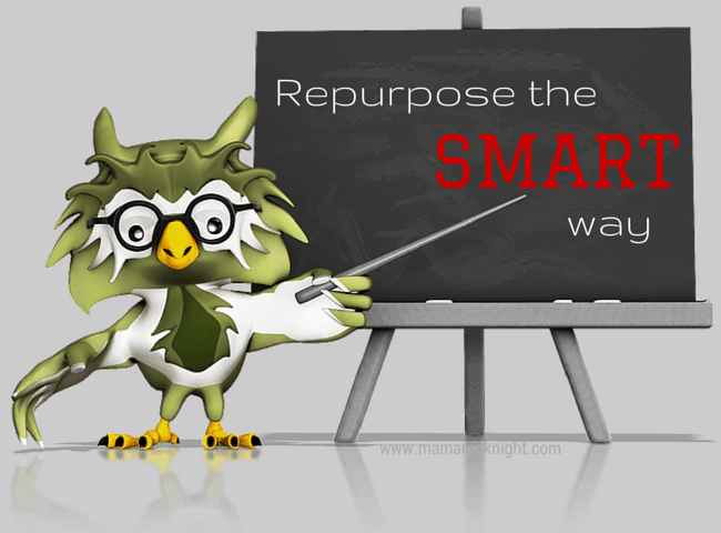 Repurpose the Smart Way