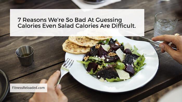 salad calories