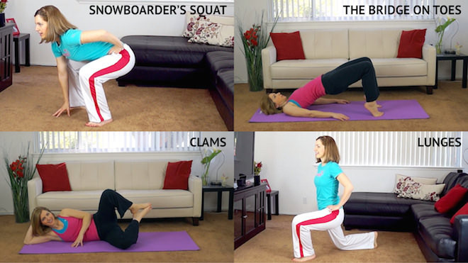 10 best exercises for lean legs and butt