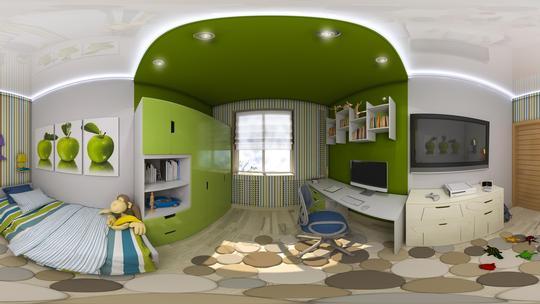 360°/VR-Beispiel Raumgestaltung Vorschau-Bild