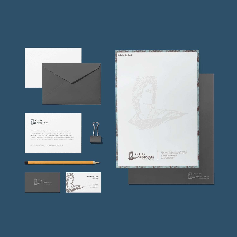 Branding et print pour une société d'assurance par Sylleb