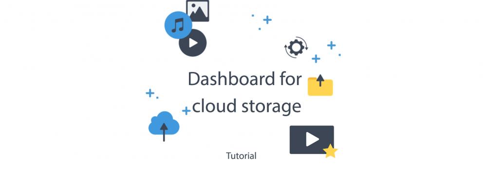 Publitio Dashboard access for cloud storage