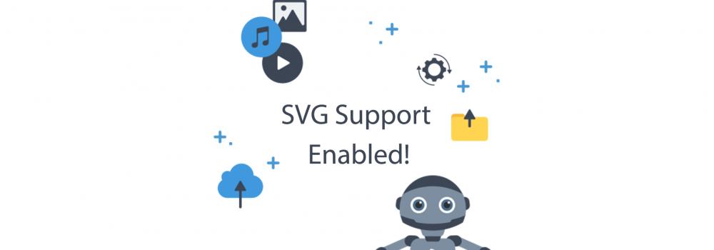 Publitio supports SVG format