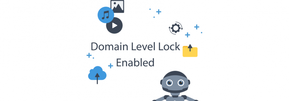Domain Level Lock Protection enabled