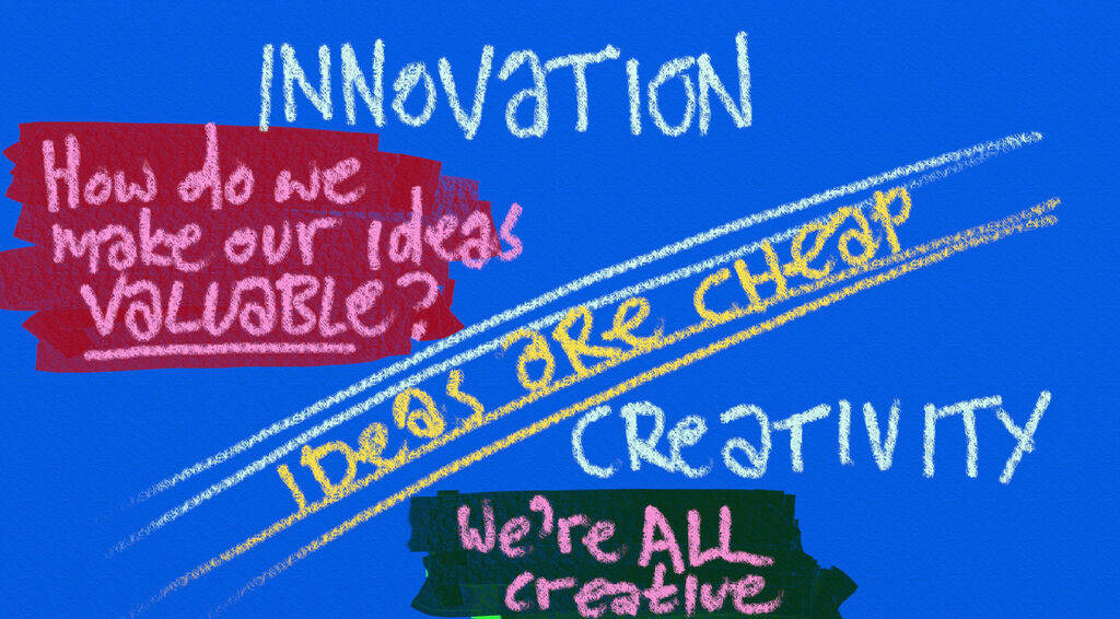 The Fundamental Differences Between Creativity And Innovation