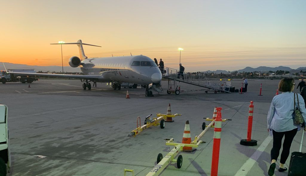 United plane to palm springs