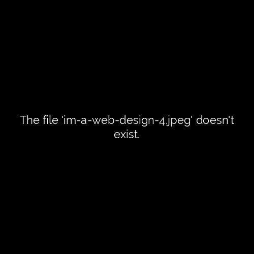 im a web designer cap