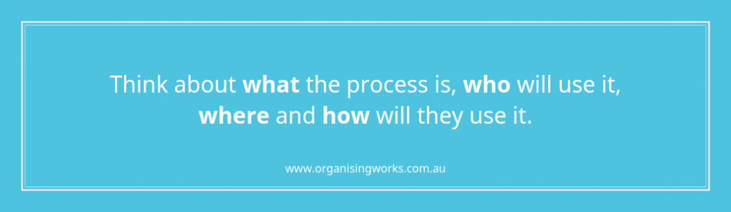 Capturing Processes and Procedures 2