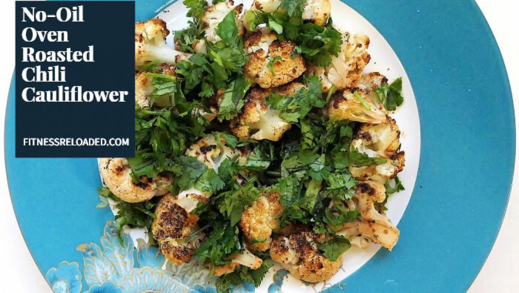 I Didn't Know I Liked Cauliflower, Until I Tried This Baked Chili Cauliflower Recipe.