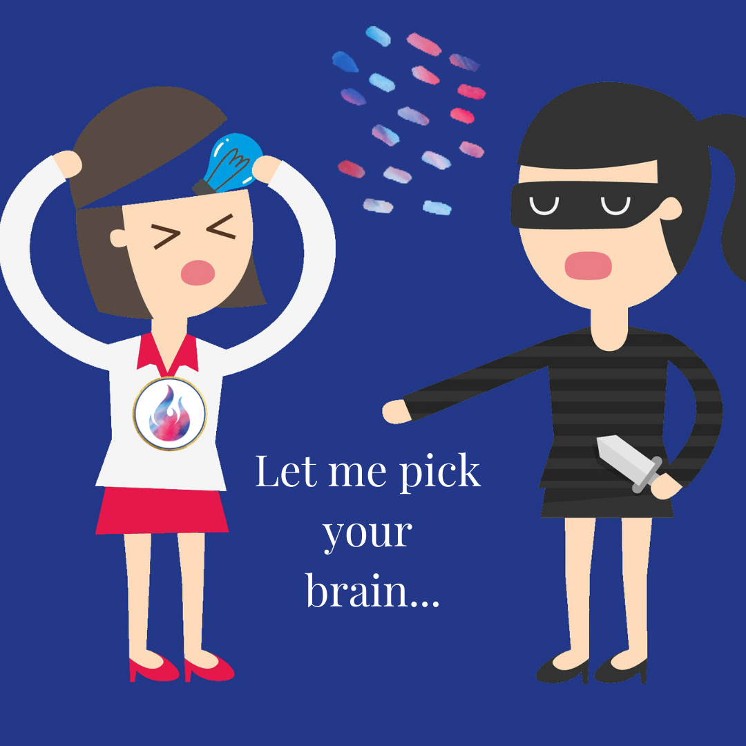 The 3-Step Pick My Brain Page via @saraharrow