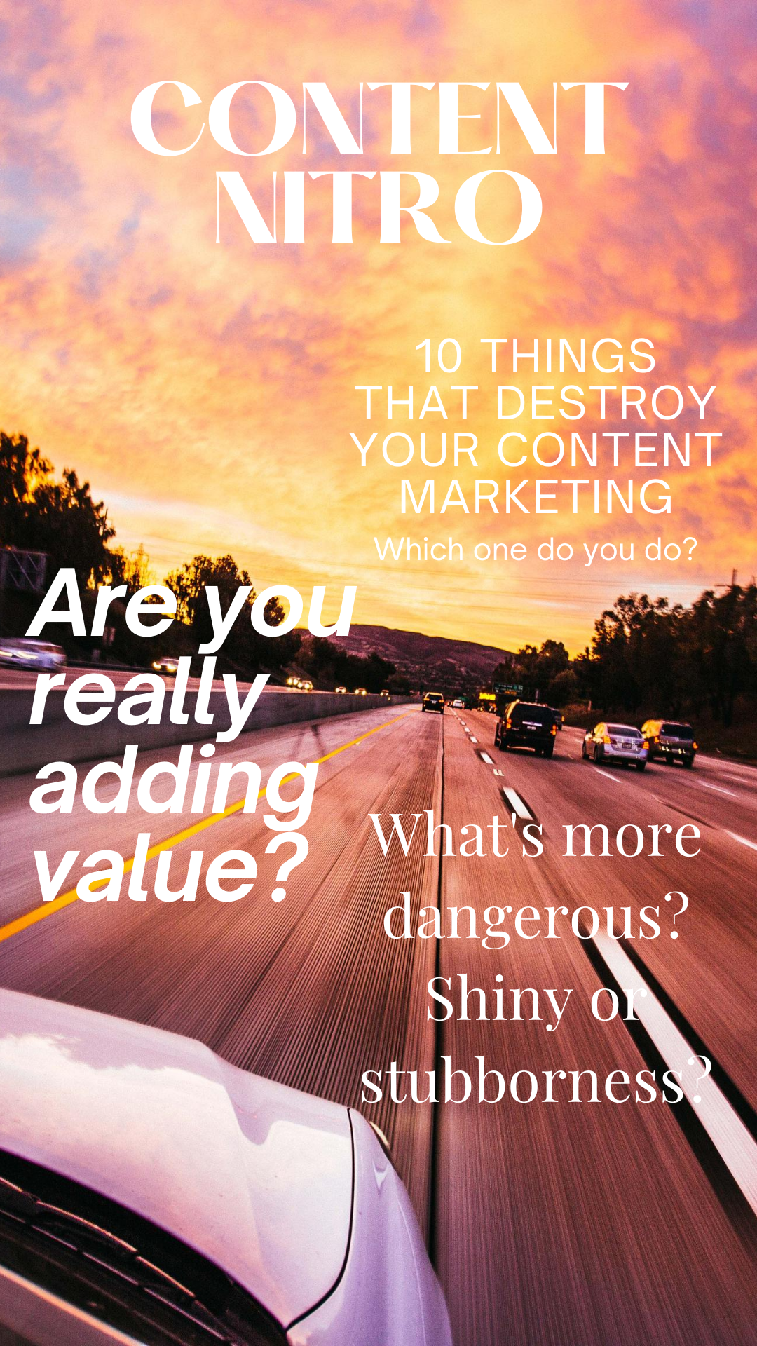 10 Things that Destroy Your Content Marketing
