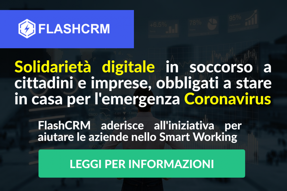 FlashCRM SOLIDARIETA DIGITALE