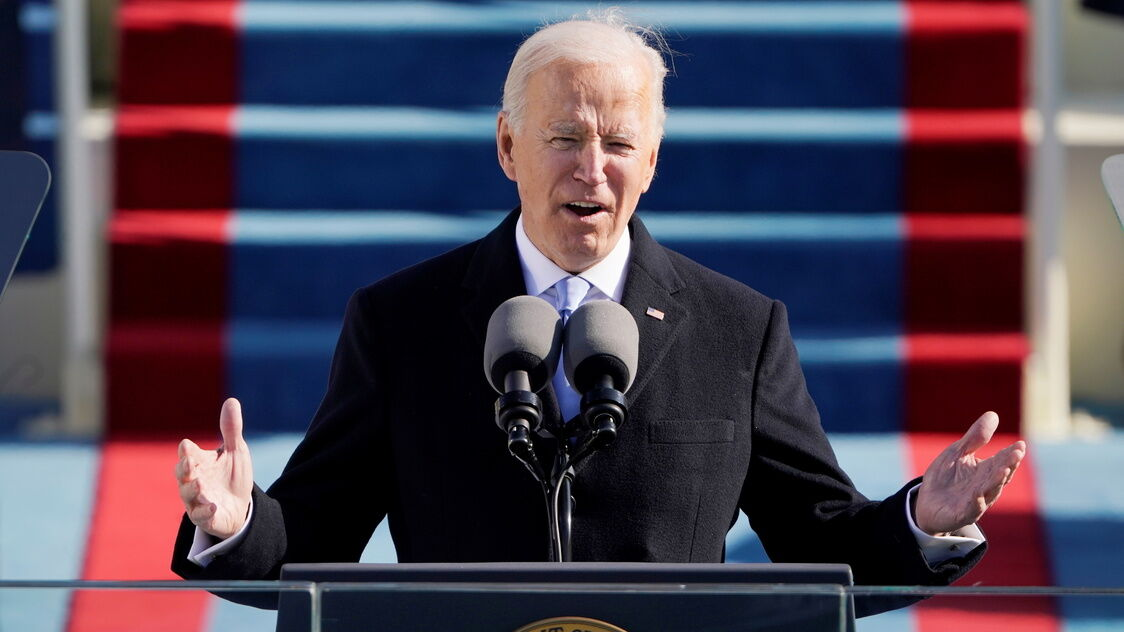 President Joe Biden inaugural Address- Jan. 20, 2021