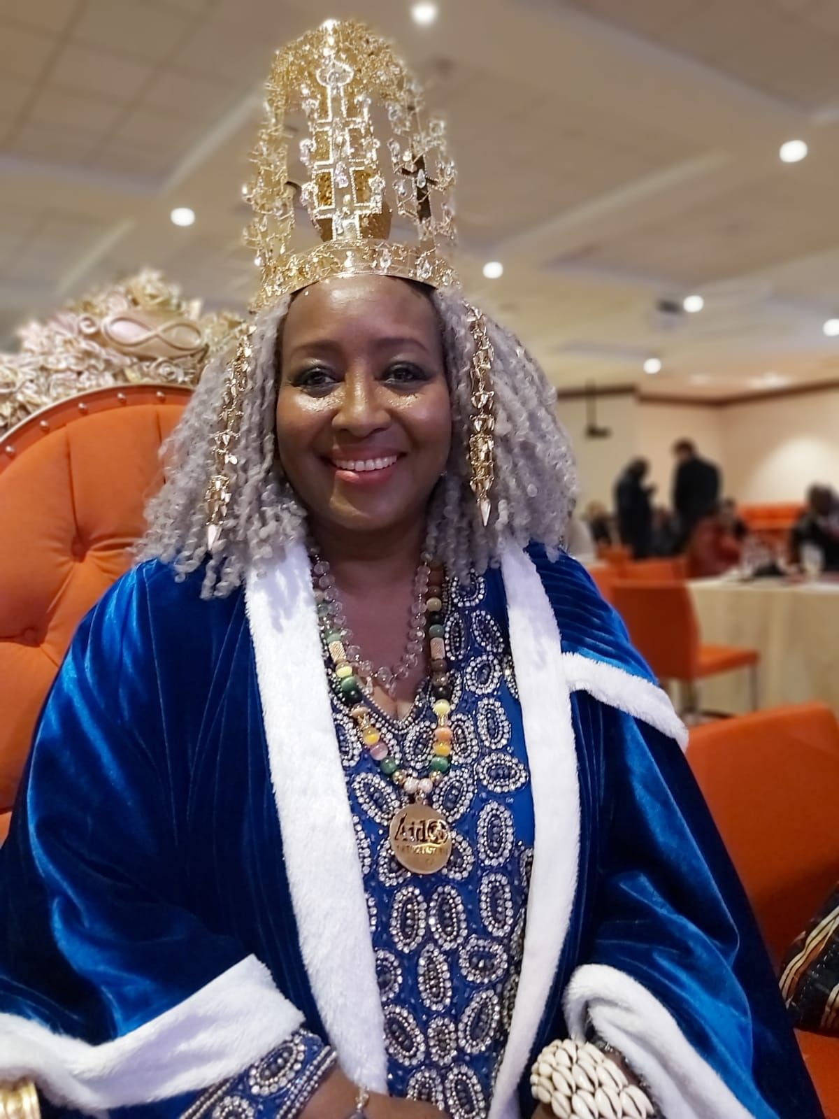 Queen Shebah III becomes the Patron of Aido Global Network