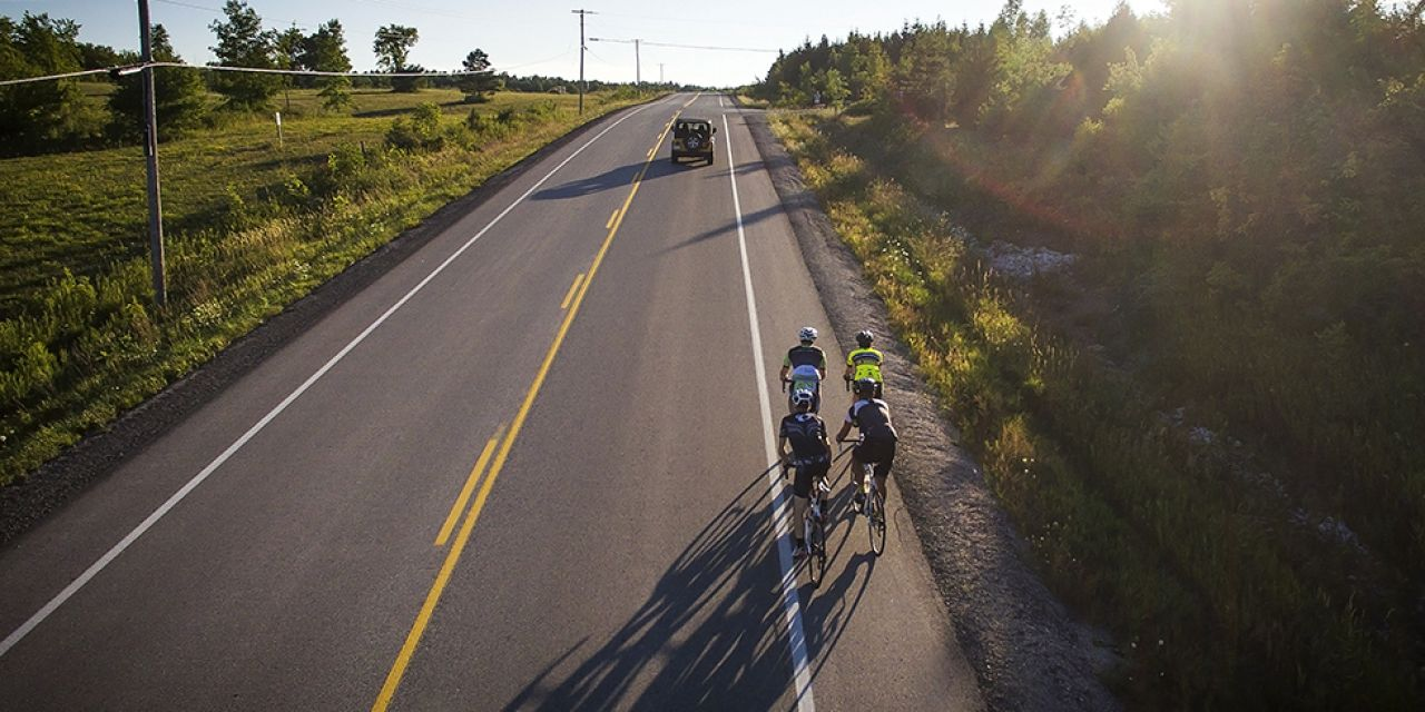 Cycling Safety – A Case for Paved Shoulders
