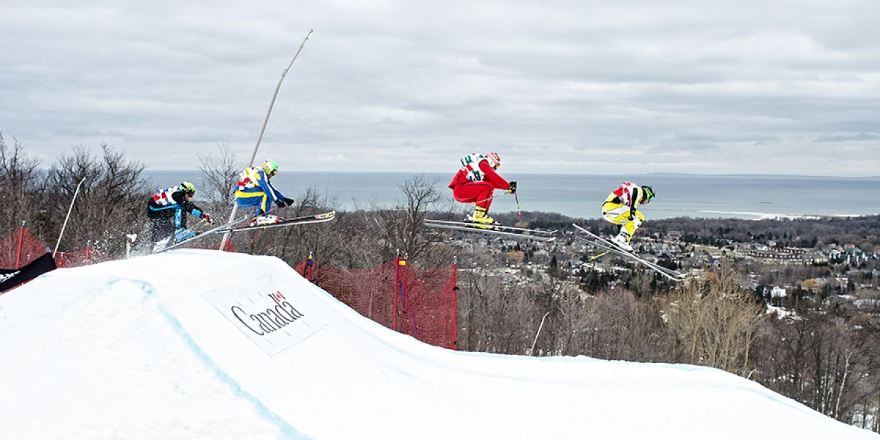 Blue Mountain World Cup Ski Cross