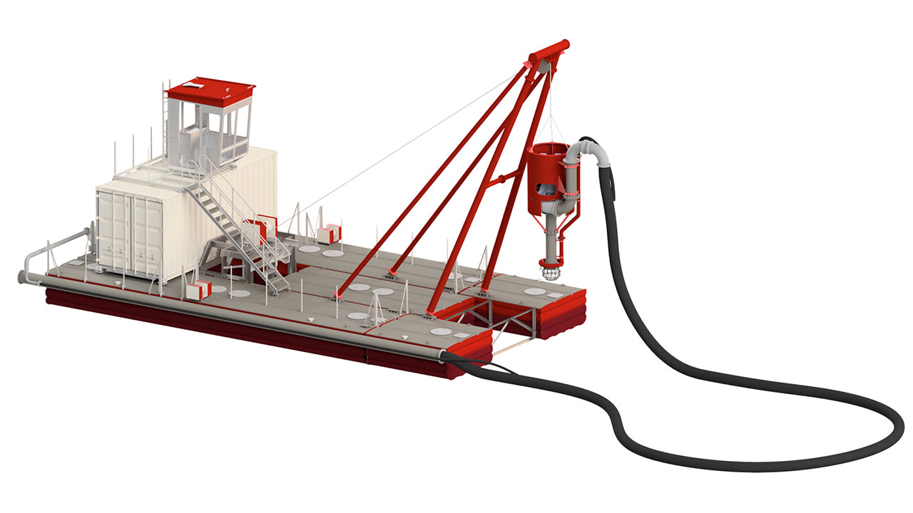 Royal IHC Dredging Innovation the IHC Otter