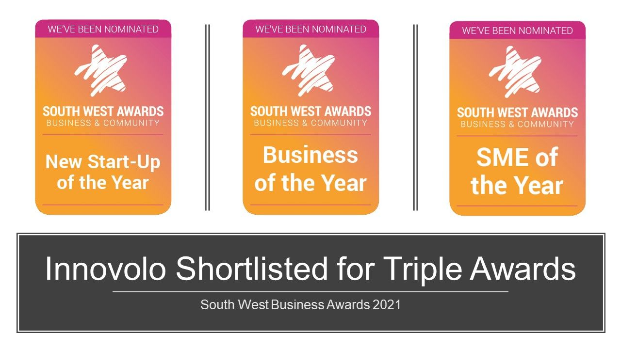 Innovolo Shortlisted for Triple Awards