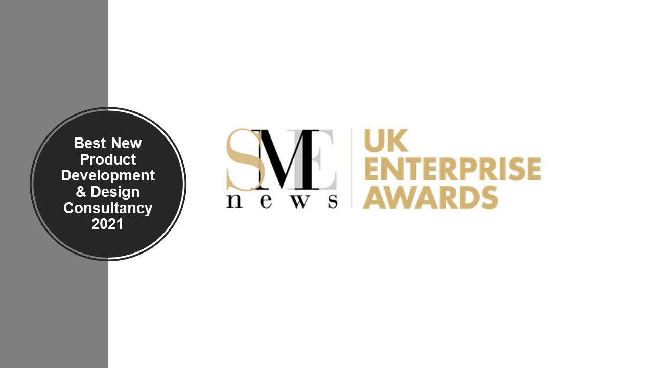 Best New Product Development & Design Consultancy 2021 - SME News UK Enterprise Awards