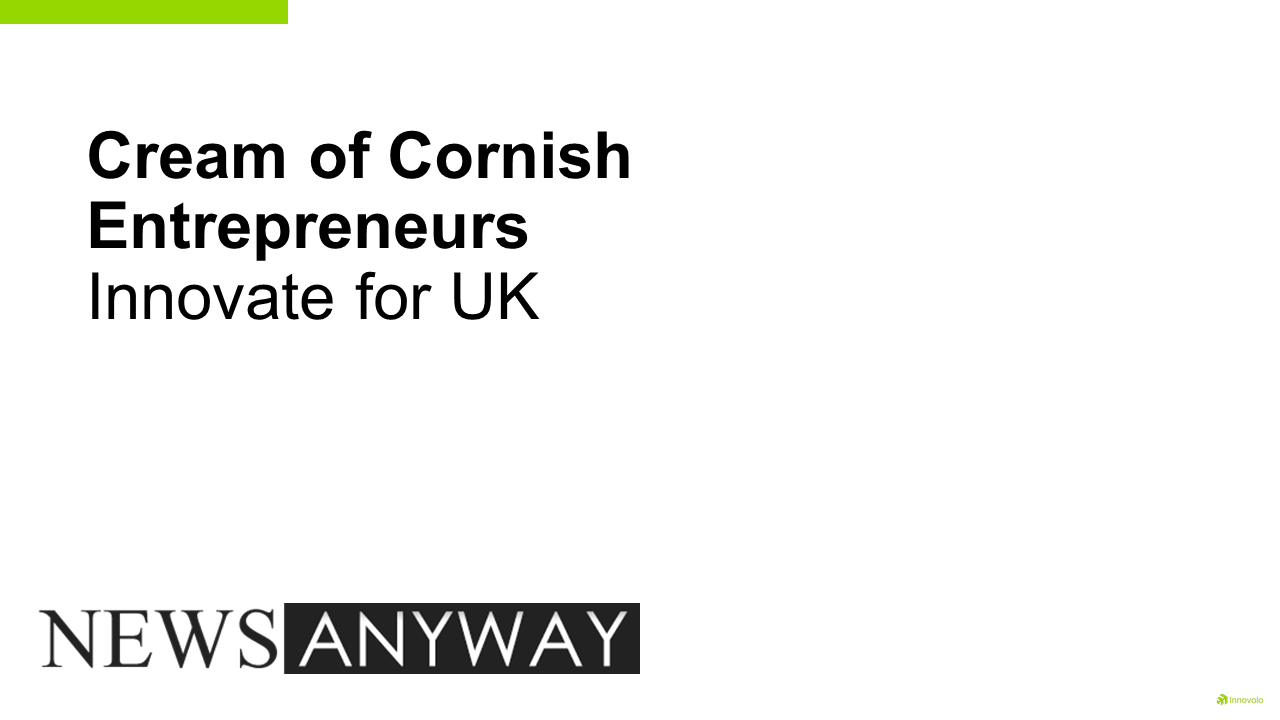 cornish entrepreneurs, The Cream of Cornish Entrepreneurs Innovating For The UK, Innovolo Ltd