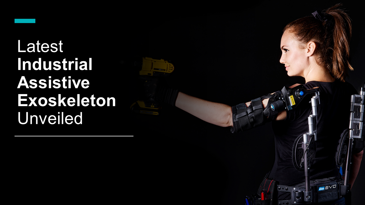 Latest Industrial Assistive Exoskeleton Unveiled