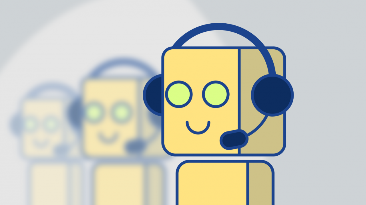 messneger bot customer service