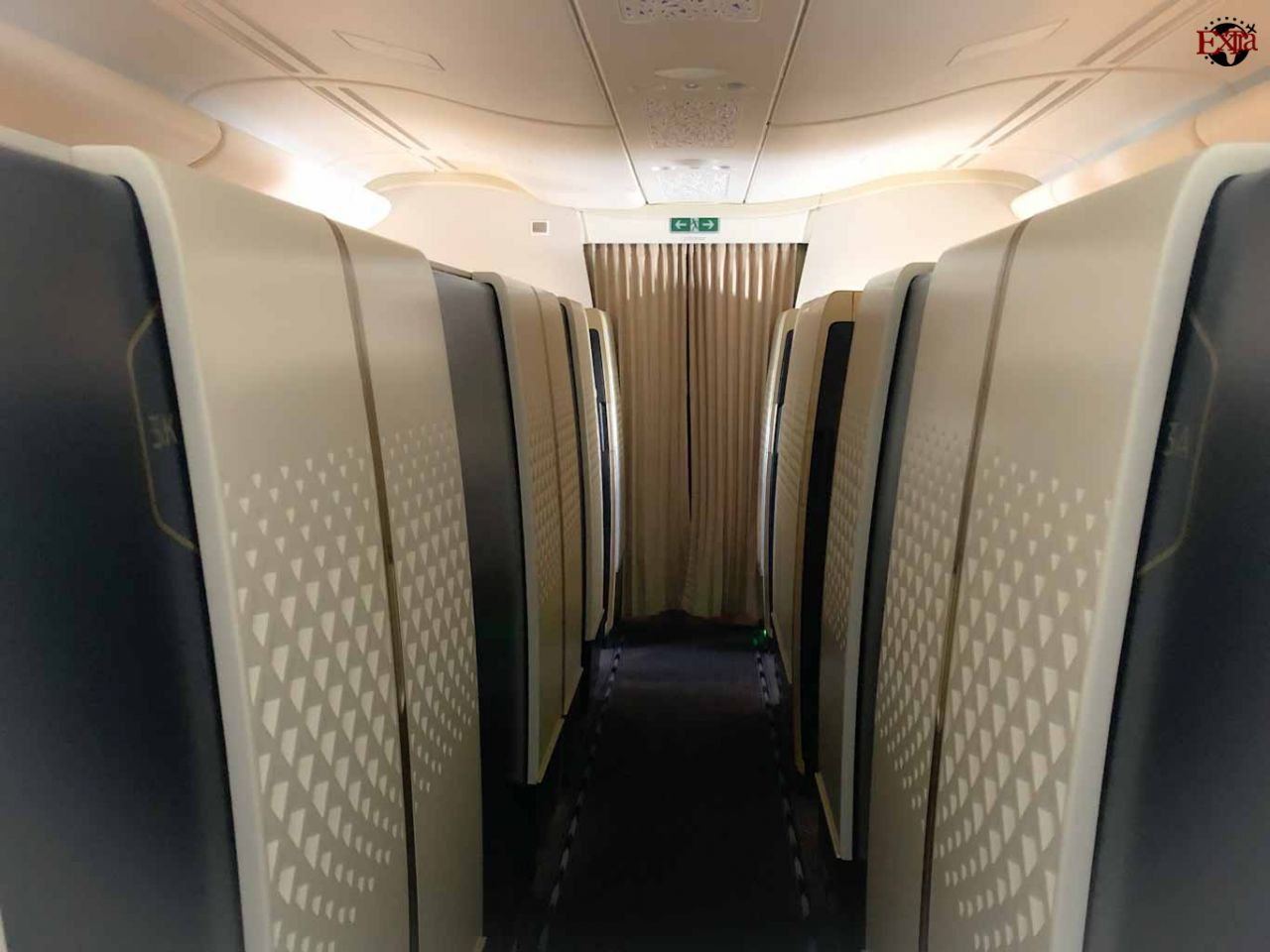 Etihad Airways First Class Cabins