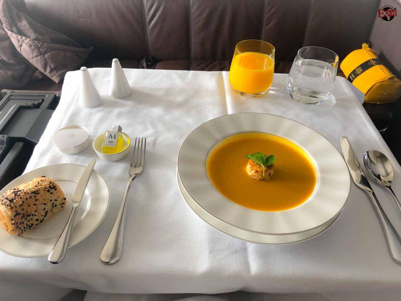 Etihad Airways First Class Food Starter