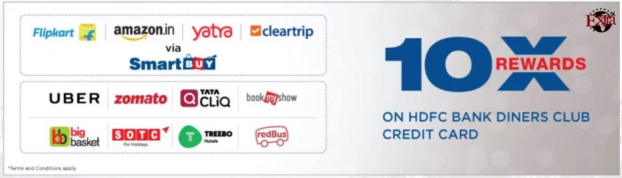 HDFC Diners 10X Reward Points