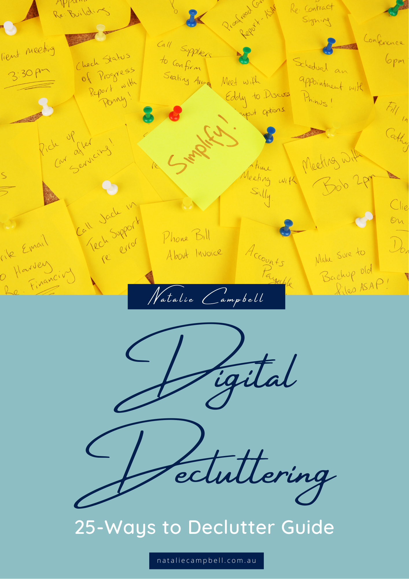Digital Declutter Blog Featured Image | Natalie Campbell