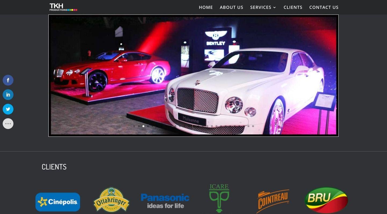 TKH Productions Home - WebGlobals