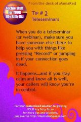 Itty Bitty Biz Tech Tips Teleseminars Have A Buddy On The Call