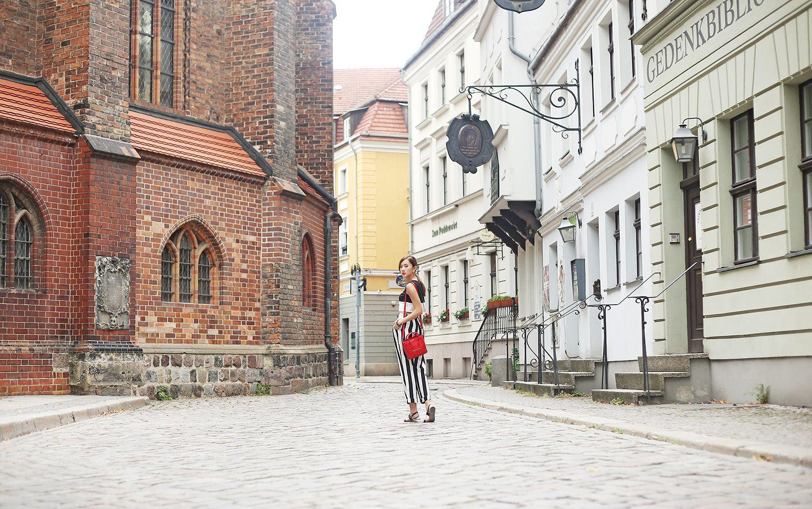 Monochromae Fashion At Nikolaiviertel | Camille Co