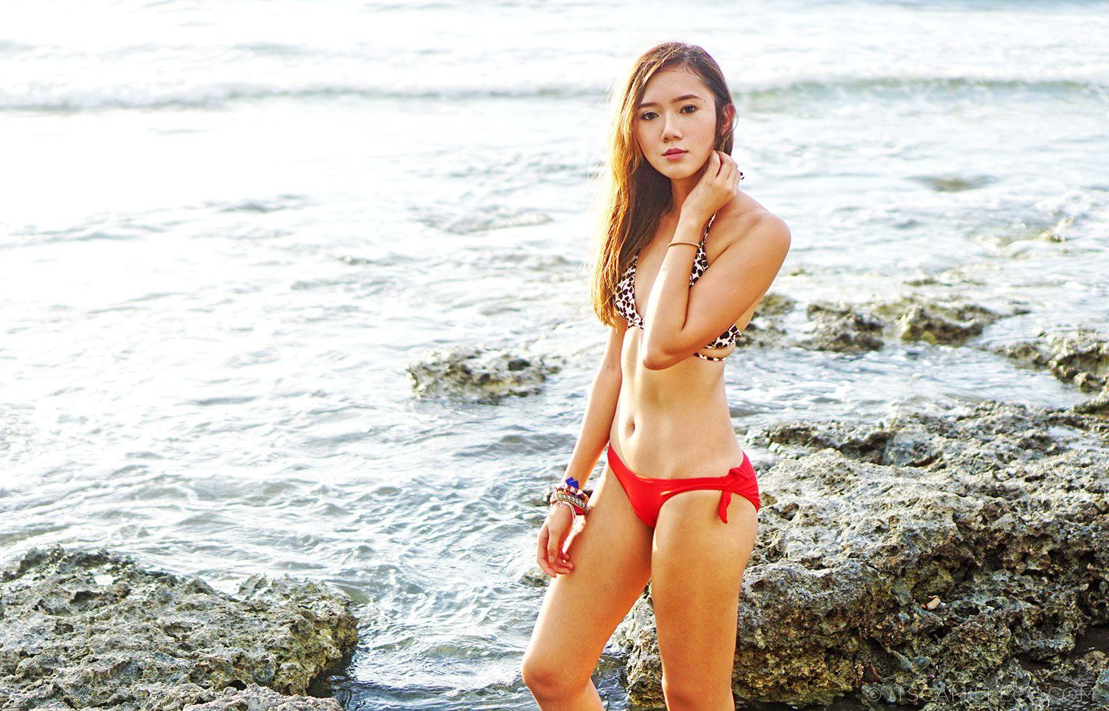 DVF Loves Roxy Bikini At Soul Surf | www.itscamilleco.com