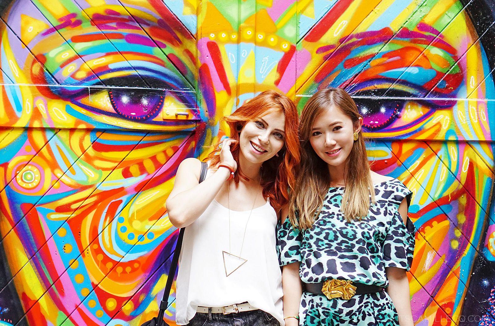 Berlin meets Manila: Masha Sedgewick & Camille Co