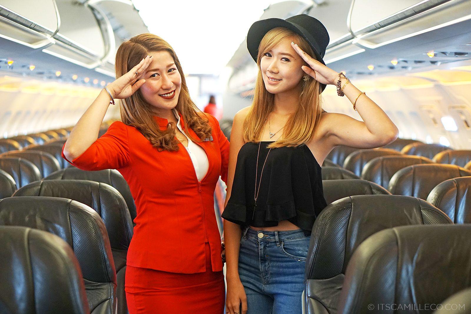 Air Asia Flight To Korea | itscamilleco.com