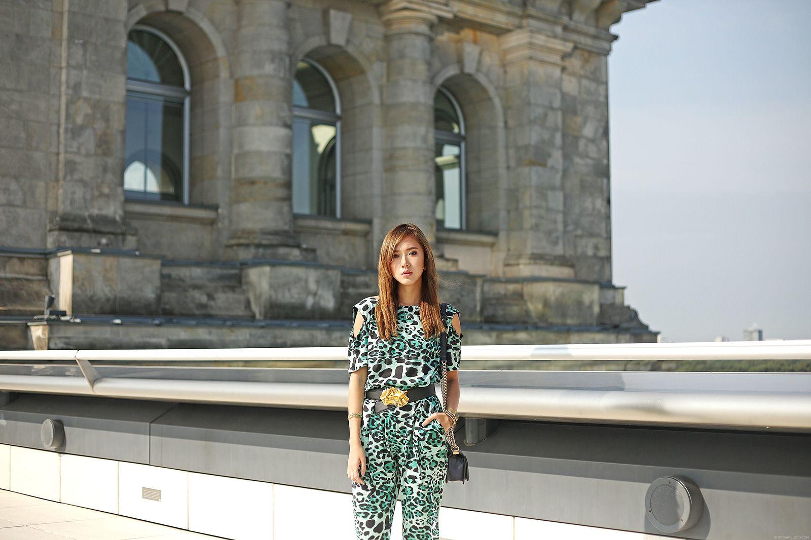 Reichstag Building Featuring Liquorish Jumpsuit