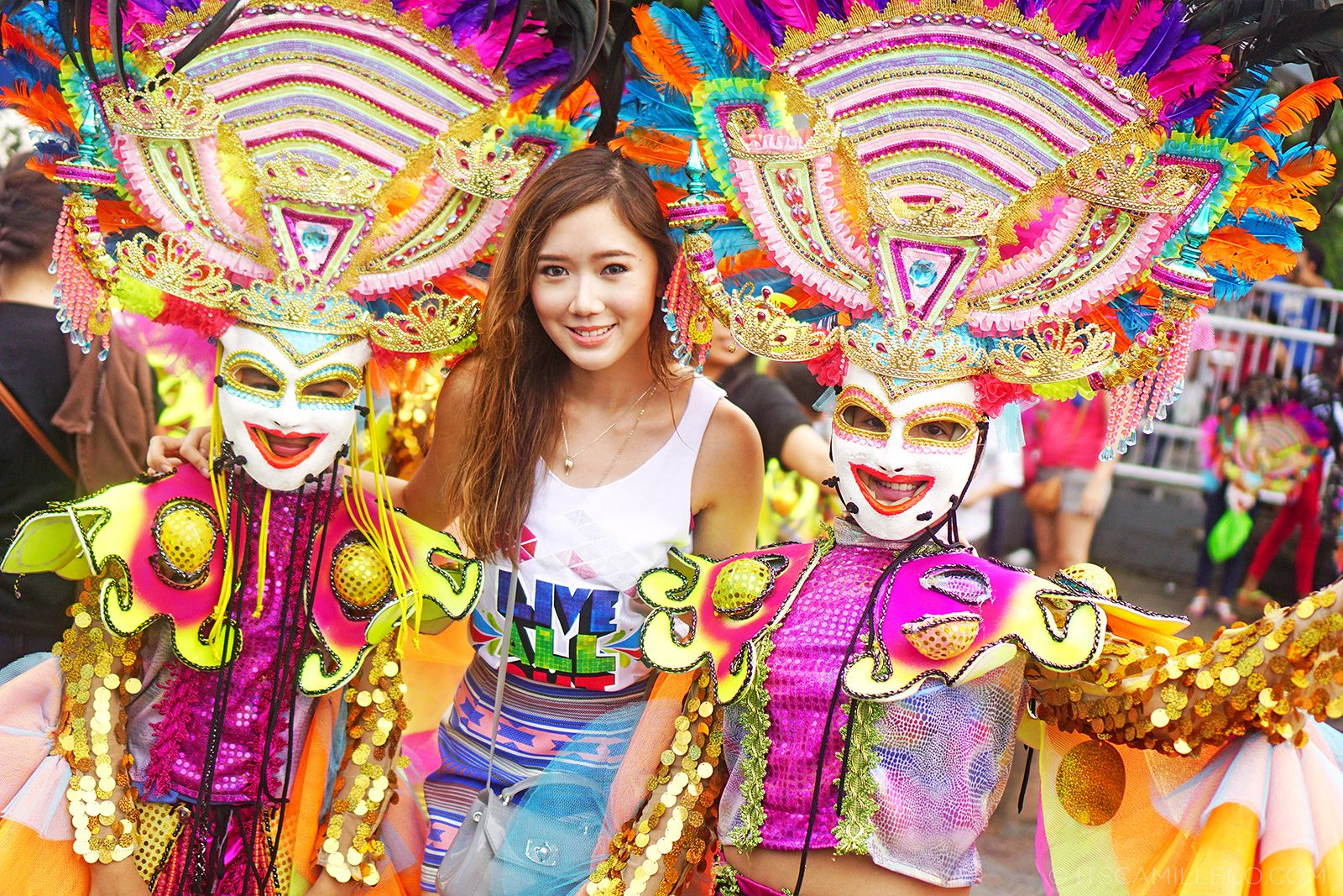 Masskara 2014 With Smart At Bacolod | www.itscamilleco.com