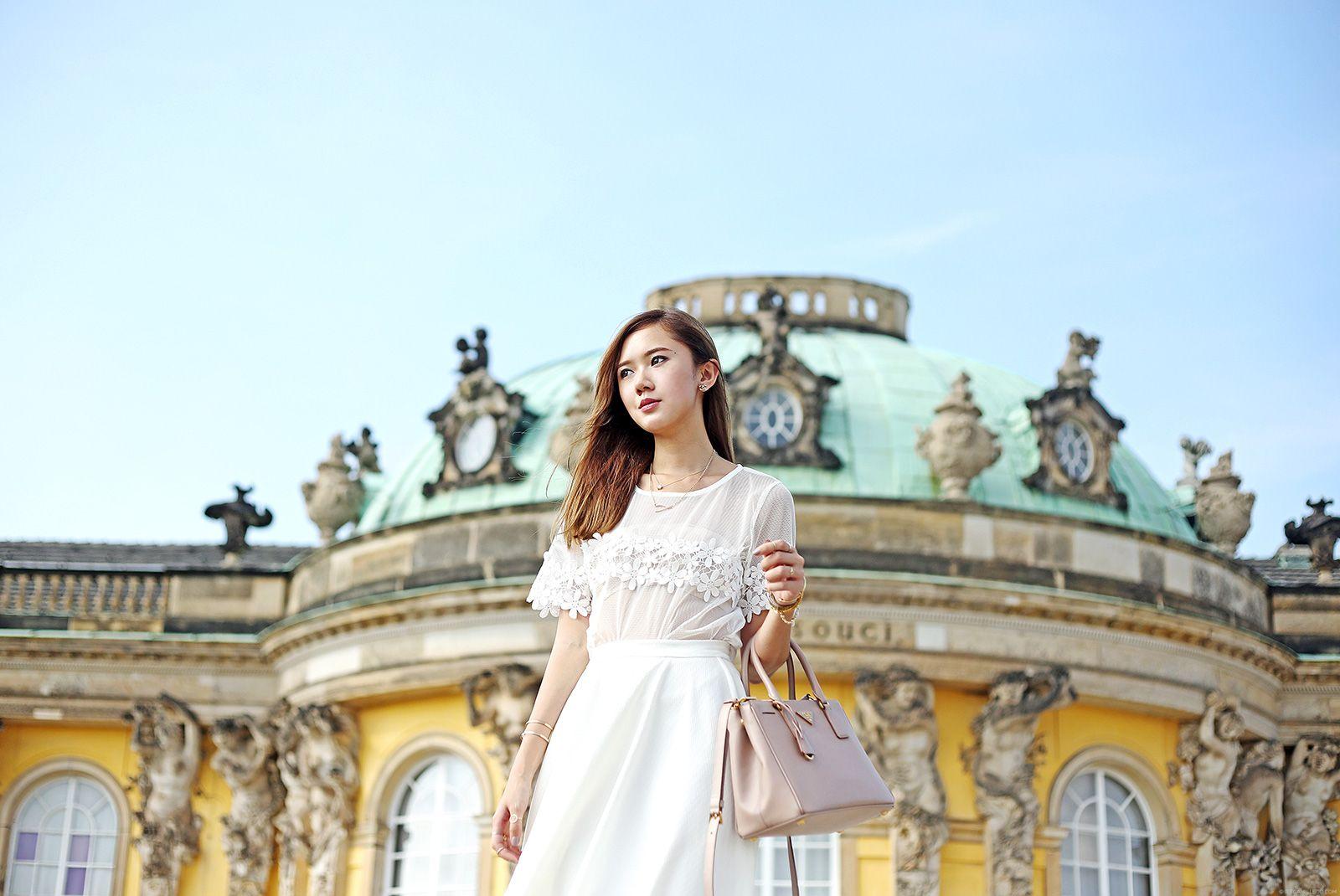 Style Blogger Camille Co at Schloss Sanssouci, Potsdam | itscamilleco.com