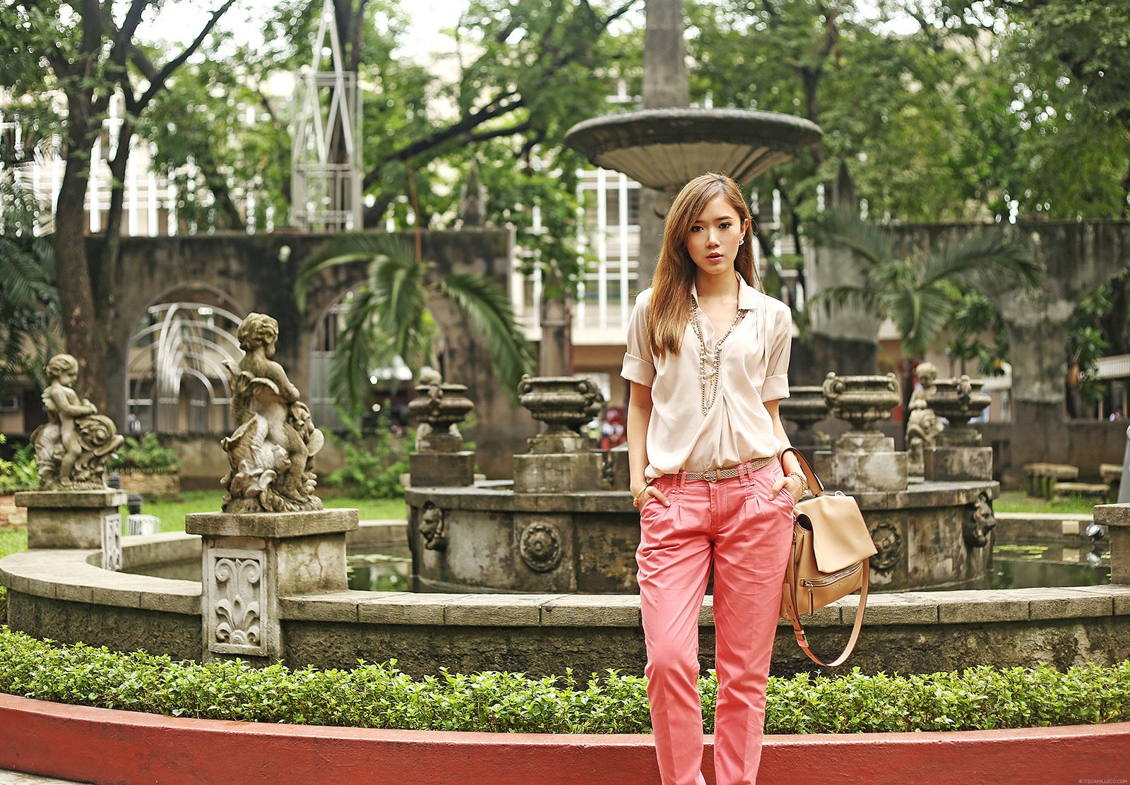 Freshgear Fashion At San Beda College Featuring Givenchy Pandora Pure | Camille Co