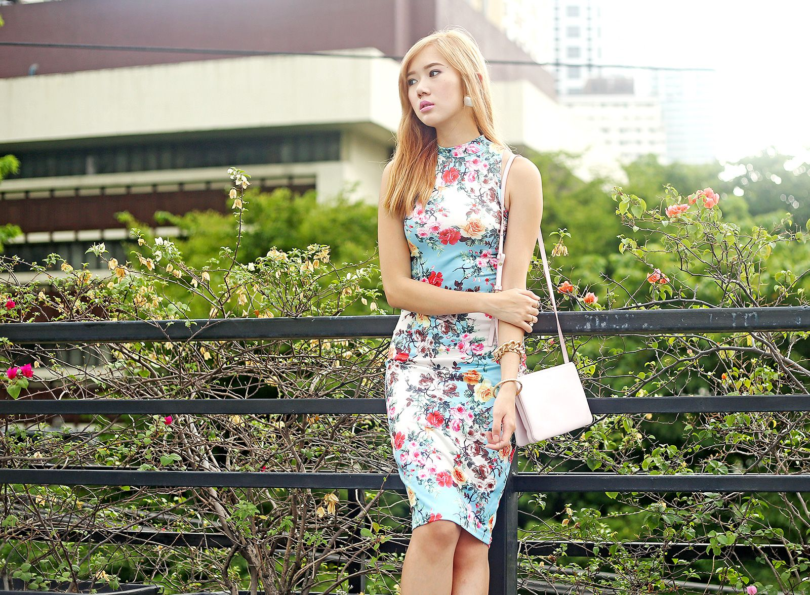 6ks Floral Dress | Camille Tries To Blog