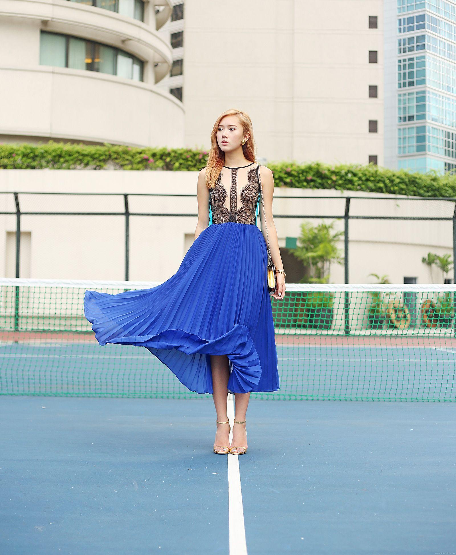 StyleMoi Lace Dress on itscamilleco.com