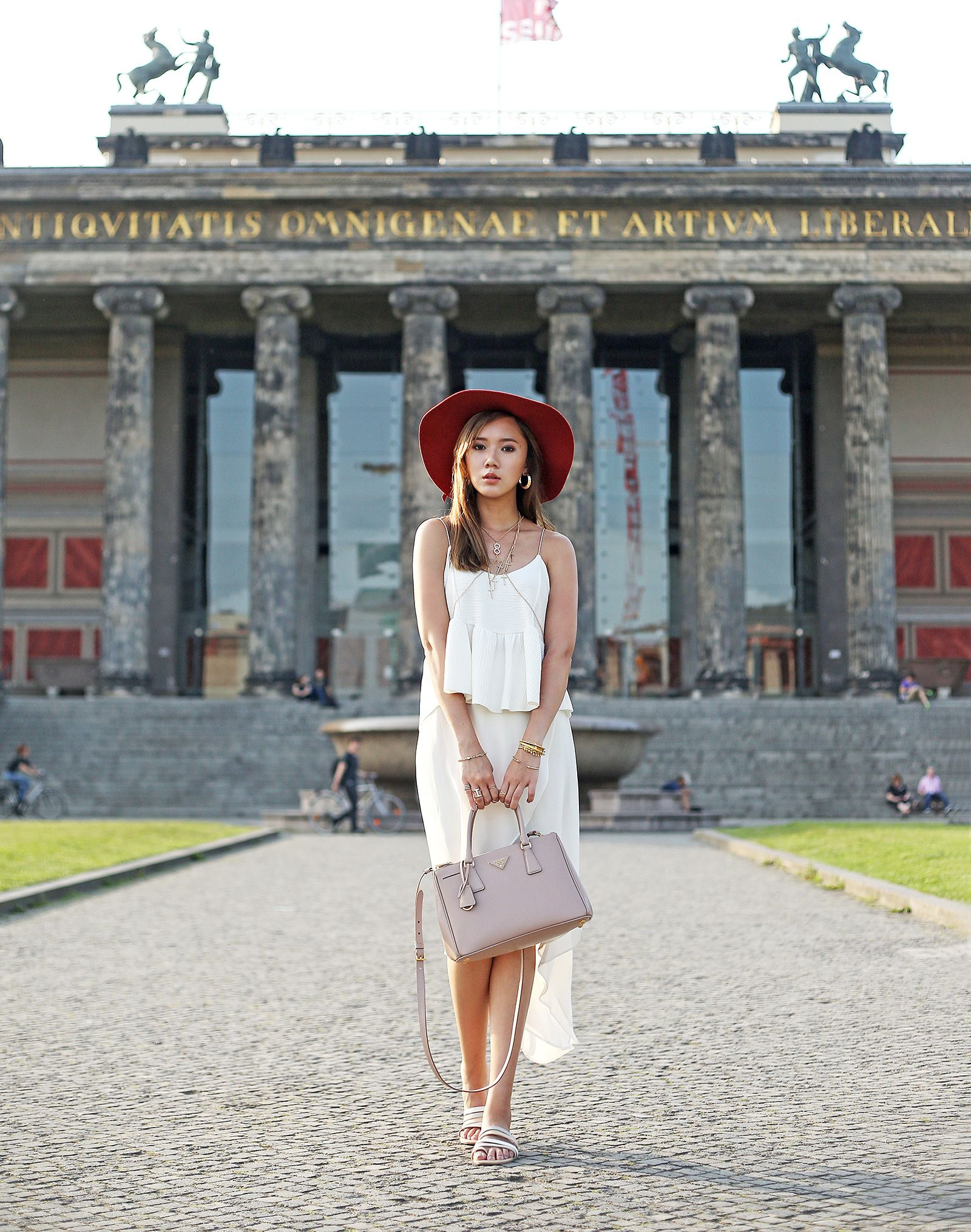 Street Style At Museum Island, Berlin | itscamilleco.com