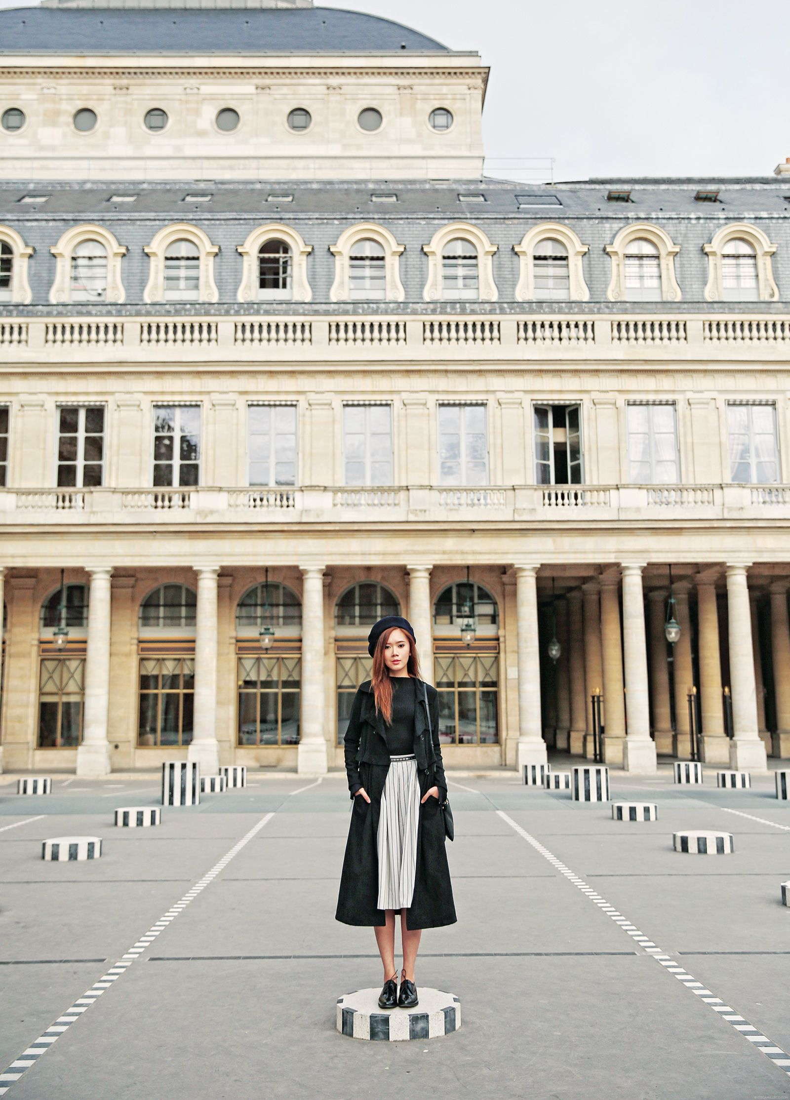 Striped Fashion At Palais Royal | www.itscamilleco.com