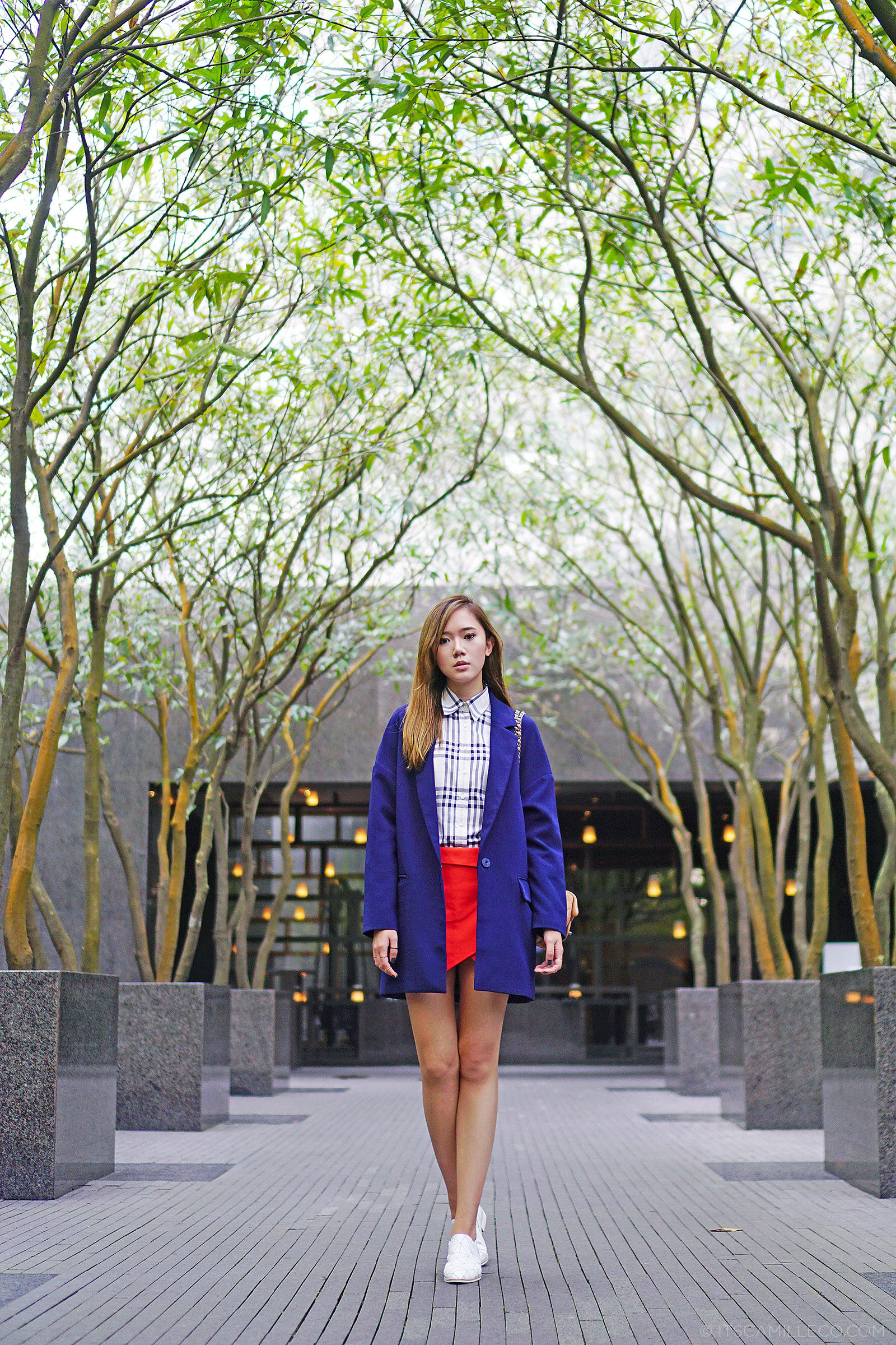 Preppy Fashion Featuring Chanel Backpack, Front Row Shop Blazer, Burberry and more | Camille Co