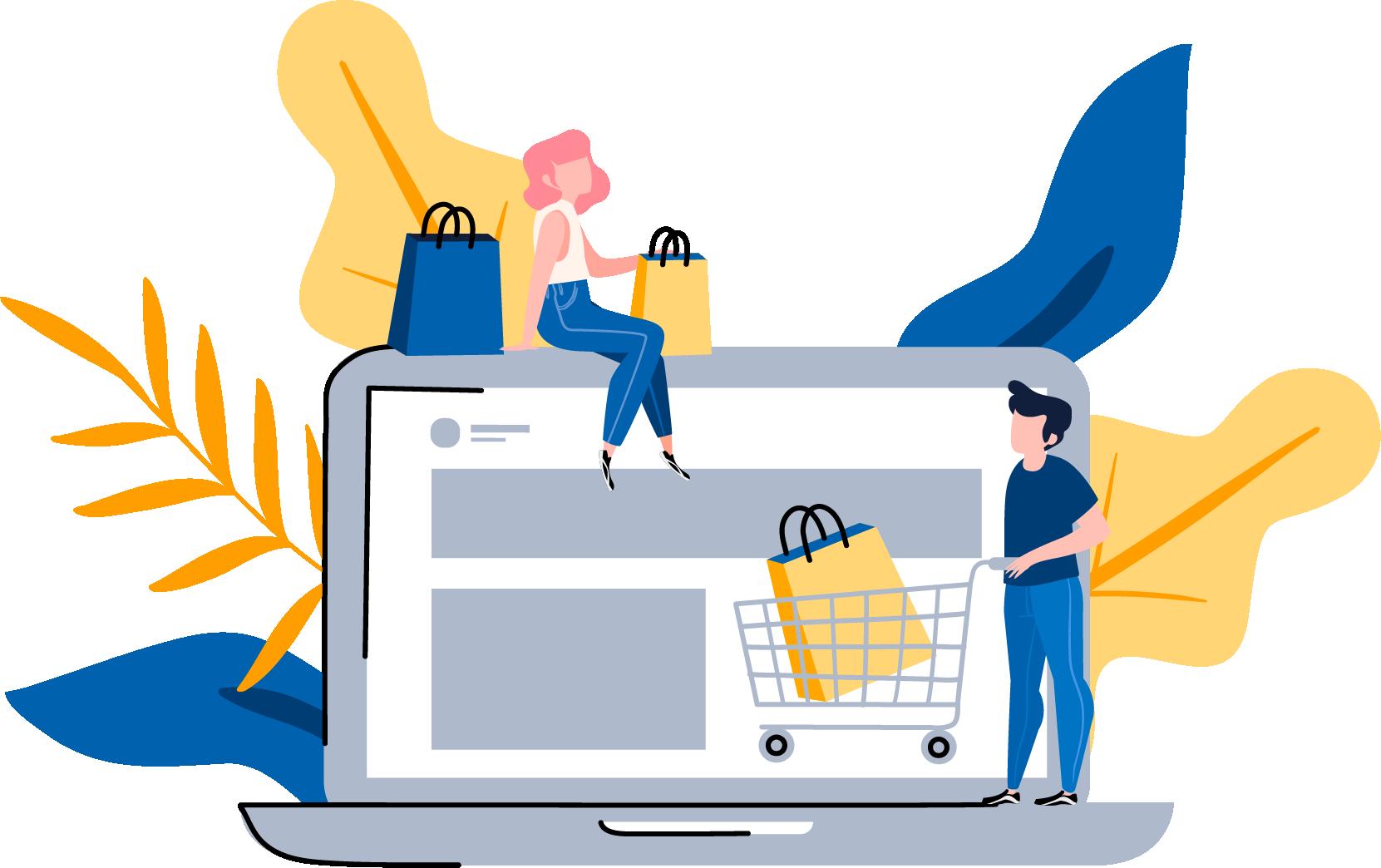 E-commerce Website Background Image - WebGlobals