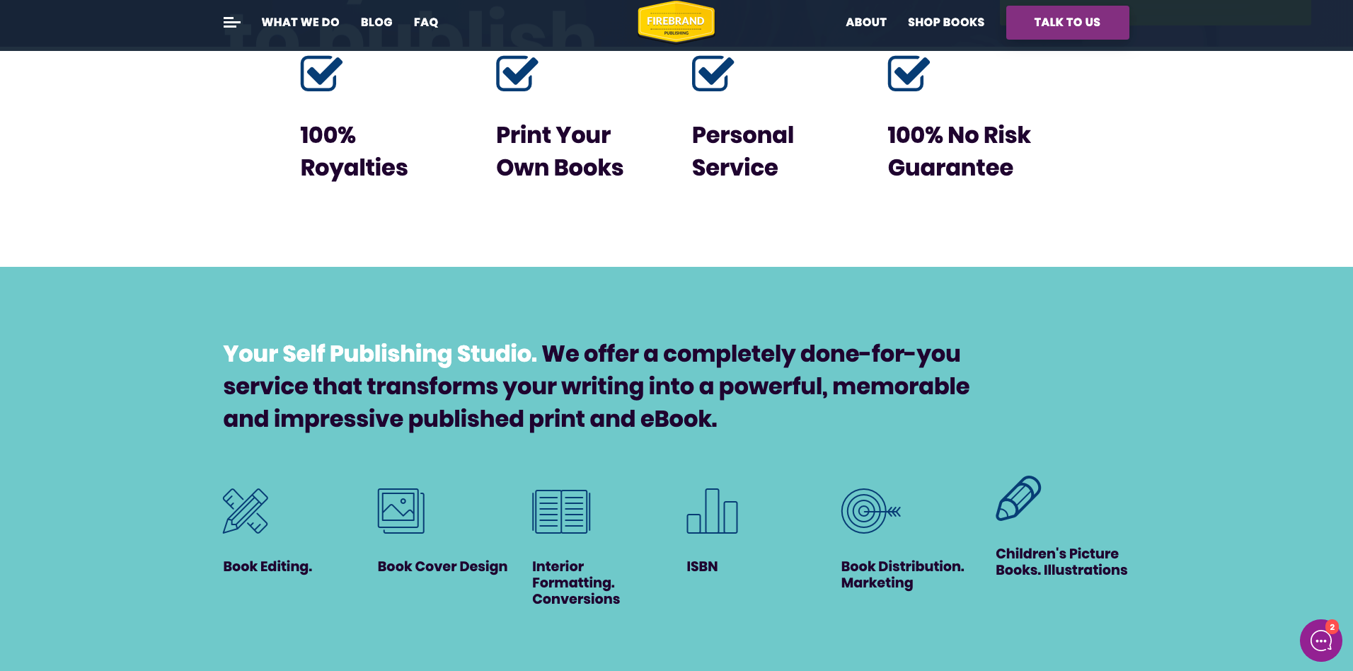 Website Design Digital Marketing For Publishing Company